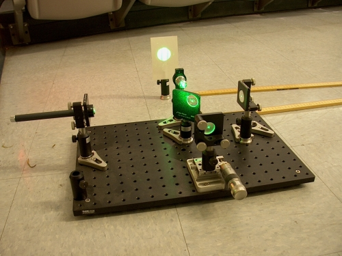 Michelson interferometer on single plate