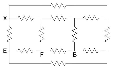 delta in physics 6442 resistor cube