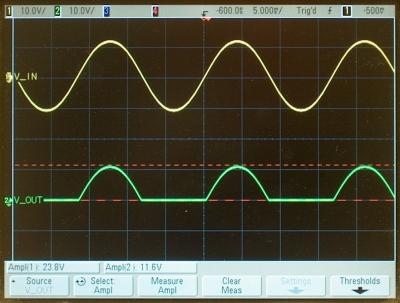64 57 -- Half-wave rectifier